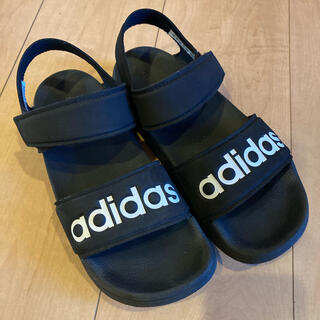adidas - adidas サンダル ブラック23