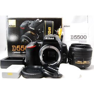 Nikon - Nikon D5500 18-55mm VR II レンズキット