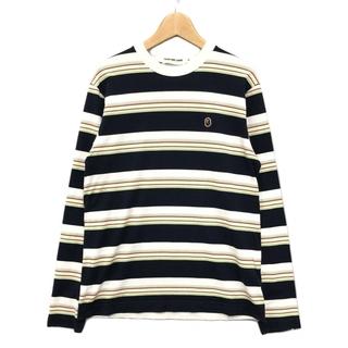 アベイシングエイプ(A BATHING APE)のアベイシングエイプ 長袖Tシャツ カットソー メンズ S(Tシャツ/カットソー(七分/長袖))