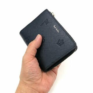 ポールスミス(Paul Smith)のポールスミス 折り財布 ポールドローイング 小銭入れ お札入れ カードケース 黒(折り財布)