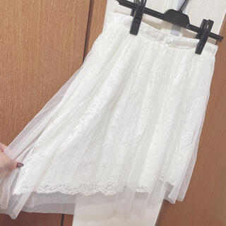 リズリサ(LIZ LISA)の新品 LIZLISA リズリサ 夢展望 ロディスポット チュールスカート (ひざ丈スカート)