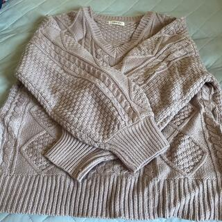 INGNI イング セーター パープル 204-920019 パステル