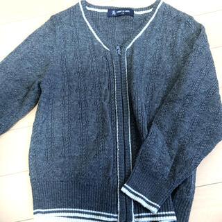 コムサデモード(COMME CA DU MODE)のコムサエンジェル  カーディガン 110 男の子 グレー 子供服 キッズ(カーディガン)