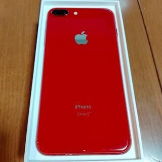 iPhone - iPhone 8 Plus レッド 64GB SIMロック解除済み 初期化済み