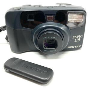 ペンタックス(PENTAX)の美品動作品 PENTAX ペンタックス ESPIO 115 リモコン付き(フィルムカメラ)