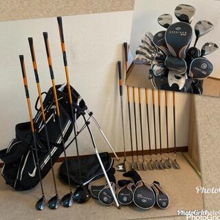 NIKE - 人気‼️【美品】ゴルフクラブセット/メンズ ゴルフセット/キャディバッグ付き