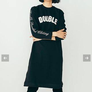 DOUBLE STANDARD CLOTHING - ダブルスタンダードクロージング 杢インレーニットワンピース
