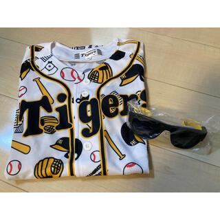 MIZUNO - 阪神タイガース ユニフォーム キッズ 150  サングラス付き