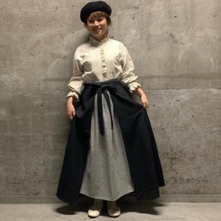 SM2 - サマンサモスモス  立川限定 二枚重ねスカート