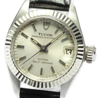 チュードル(Tudor)のチュードル プリンセス オイスターデイト 9231/4 レディース 【中古】(腕時計)