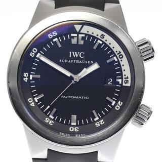 インターナショナルウォッチカンパニー(IWC)の☆良品 IWC アクアタイマー オートマティック メンズ 【中古】(腕時計(アナログ))