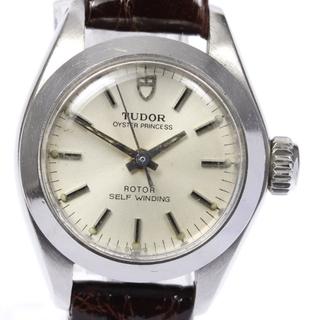 チュードル(Tudor)のチュードル オイスタープリンセス  92100 レディース 【中古】(腕時計)