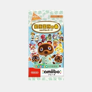 任天堂 - どうぶつの森amiiboカード 第5弾 (1BOX 25パック入り)