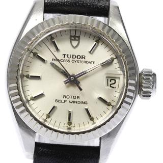 チュードル(Tudor)のチュードル プリンセス オイスターデイト 92314 レディース 【中古】(腕時計)