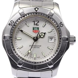 タグホイヤー(TAG Heuer)のタグホイヤー 2000シリーズ WK1312-0 レディース 【中古】(腕時計)