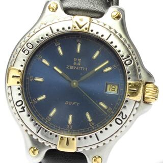 ゼニス(ZENITH)のゼニス デファイ ダイバー デイト 19.2000.337 メンズ 【中古】(腕時計(アナログ))