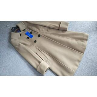BURBERRY BLUE LABEL - 新品 ブルーレーベルクレストブリッジ 可愛いウールコート38キャメル72600円
