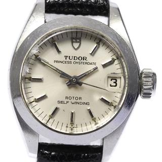 チュードル(Tudor)のチュードル プリンセス オイスターデイト 92300 レディース 【中古】(腕時計)