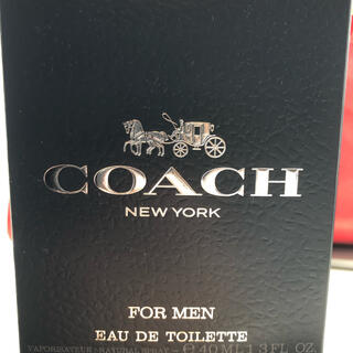 コーチ(COACH)のcoach 香水 メンズ(香水(男性用))