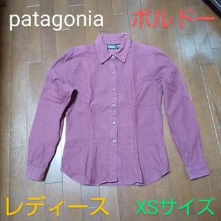 パタゴニア(patagonia)のpatagonia パタゴニア シャツ 長袖 長袖シャツ レディース XS (シャツ/ブラウス(長袖/七分))