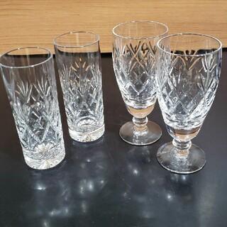 ロイヤルドルトン(Royal Doulton)のロイヤルドルトンヴィクトリアングラスセット(グラス/カップ)