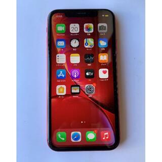 Apple - SIMフリー iPhone XR 128GB  93%  赤