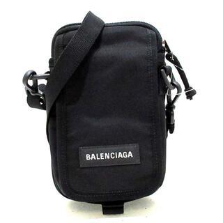 バレンシアガ(Balenciaga)のバレンシアガ ショルダーバッグ美品  黒(ショルダーバッグ)