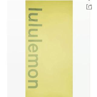 lululemon - ルルレモン マットサイズ タオル