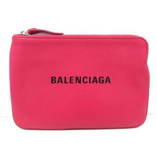 バレンシアガ(Balenciaga)のバレンシアガ ポーチ美品  492465 レザー(ポーチ)