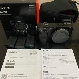 SONY - ☆美品 大人気ソニーミラーレス一眼カメラα6400