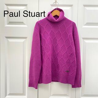 ポールスチュアート(Paul Stuart)のポールスチュアート/カシミヤ100 ニット セーター タートルニット L(ニット/セーター)