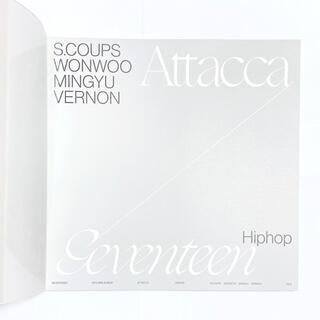 SEVENTEEN - SEVENTEEN Attacca Op.2 ver ヒポチ