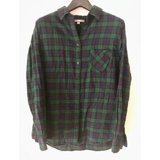 UNIQLO - 【ユニクロ】お買い得フランネル シャツ XL フランネルチェックシャツ