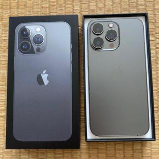 Apple - iPhone13Pro 128GB グラファイト SIMフリー 極美品