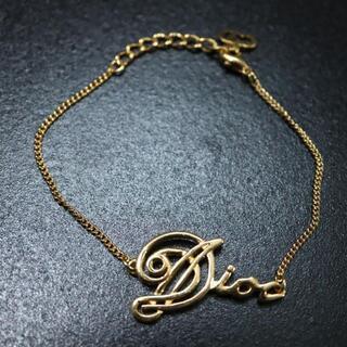 クリスチャンディオール(Christian Dior)の✨美品✨ ディオール ブレスレット ゴールド ヴィンテージ ロゴ(ブレスレット/バングル)