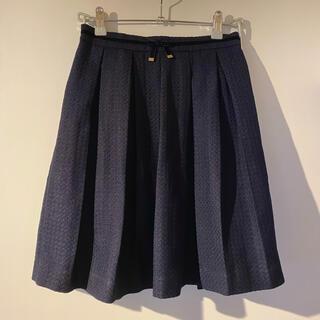 ロペピクニック(Rope' Picnic)のロペピクニック ネイビー スカート(ひざ丈スカート)