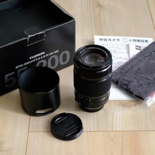 富士フイルム - FUJI FILM 交換レンズ XF55-200F3.5-4.8 R LM OI