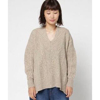 mame - mame kurogouchi ケーブルニットセーター