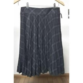 コムサデモード(COMME CA DU MODE)のコムサ デ モード 膝丈プリーツスカート(ひざ丈スカート)