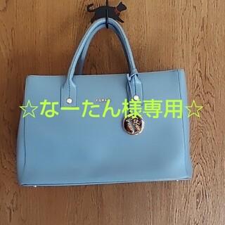 フルラ(Furla)の☆なーたんさま専用☆  FURLA バッグ 水色 フルラ(ハンドバッグ)
