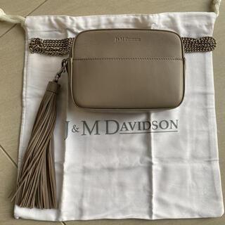J&M DAVIDSON - ◆美品◆J&M DAVIDSON   ミニチェーンバッグ&タッセル