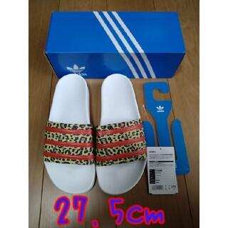 adidas - アディダス  アディレッタサンダル  27.5cm シャワーサンダル ヒョウ柄