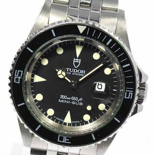 チュードル(Tudor)のチュードル プリンスオイスターデイト ミニサブ 73090 ボーイズ 【中古】(腕時計(アナログ))