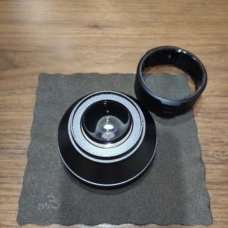 リコー(RICOH)のRICOH ワイドコンバージョンレンズ GW-4 レンズアダプター GA-1付き(レンズ(単焦点))