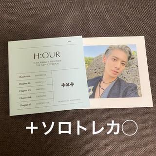 テヒョン アコーディオンカード(ご希望であれば+トレカ)