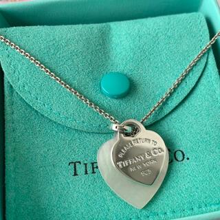 Tiffany & Co. - Tiffany&Co.シェルハートタグペンダント