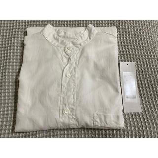 COMOLI - COMOLI 21SS ベタシャン バンドカラーシャツ プルオーバー コモリ