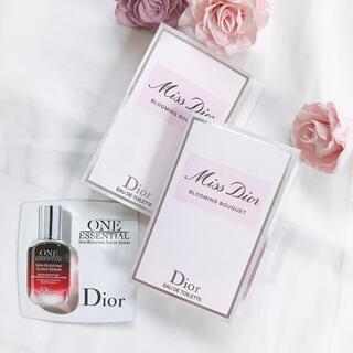 ディオール(Dior)のミスディオール ブルーミングブーケ2個 ディオール セラム【美容液】(その他)