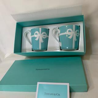 Tiffany & Co. - 未使用品 ティファニー マグカップ ブルーボックス   2個セット