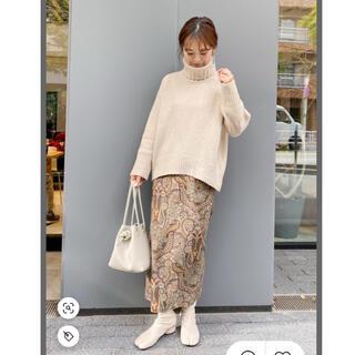 カスタネ(Kastane)のkastane☆ペイズリー Iラインスカート☆人気完売☆(ロングスカート)